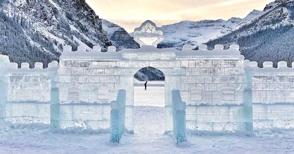 Lake Louise winter festival