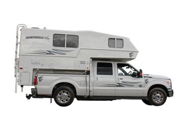 Canadream Truck Camper Exterior