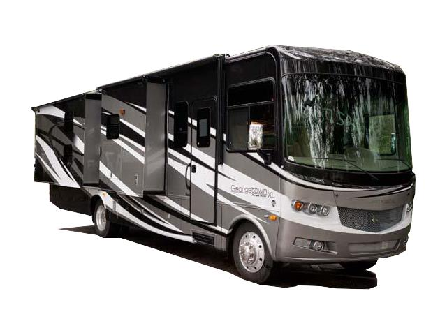 Outdoor Travel Large 35' Class a grey/black