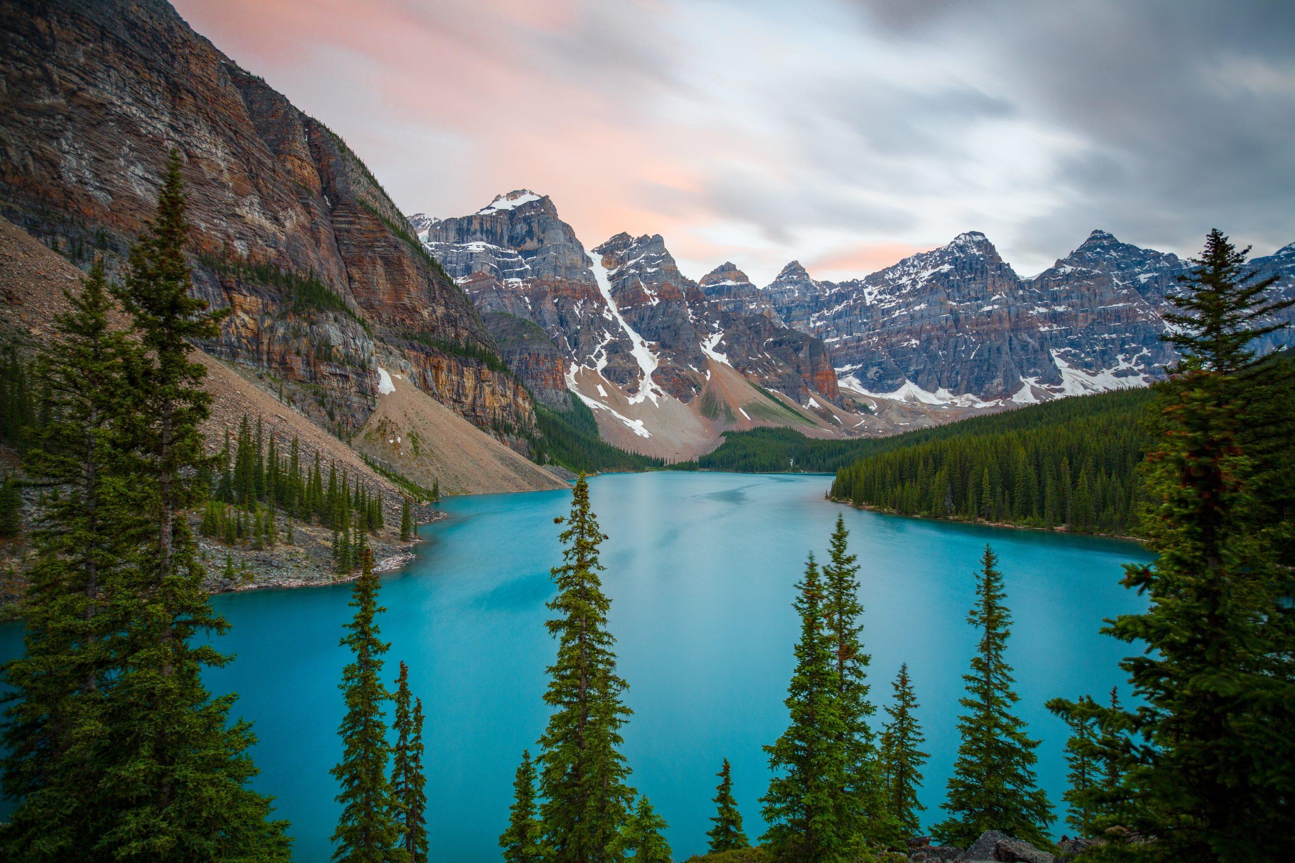 Alberta pristine lakes