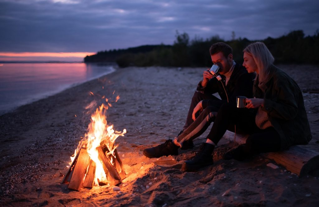Relax by the fine on your RV adventure