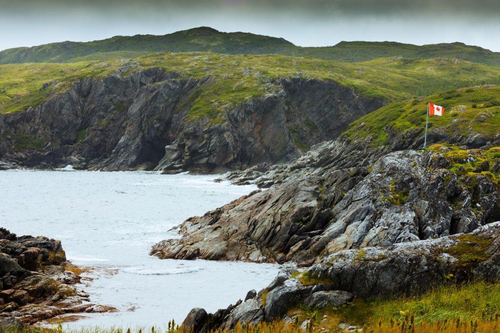 Rugged coast pf Newfoundland