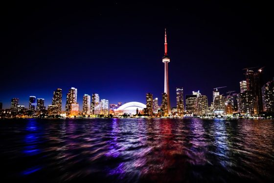 CN Tower from across the water