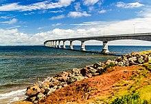 Drive RV across Condferation Bridge